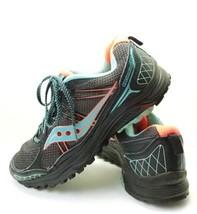 Saucony Excursion TR10 Athletic Running Shoes Women's Sz 8.5m Black ((tu19) - $29.99