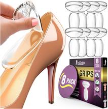 8Extra Soft Heel Grips for Women Shoe [Heel Blister Prevention] Gel Heel... - $26.77