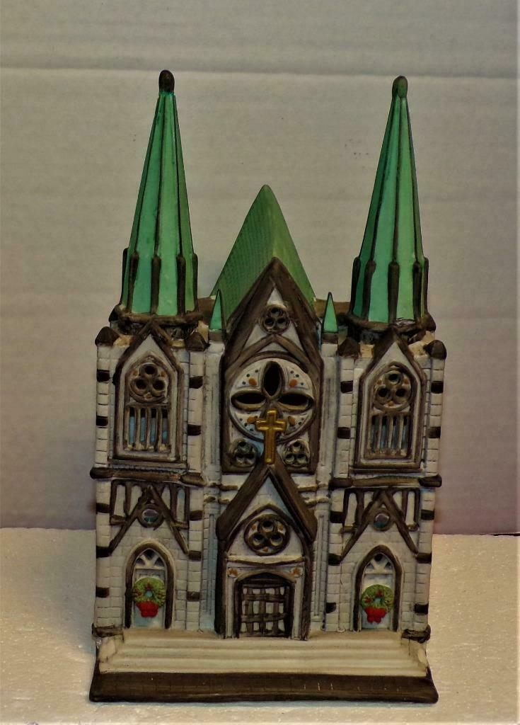 Primary image for Department 56- Christmas in the City- The Cathedral-MINT-SUPER SALE REPAIRED