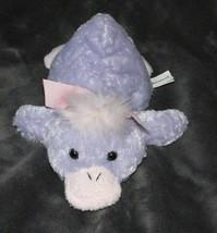 "Animal Adventure Stuffed Plush Laying Lying Duck B EAN Bag Purple Pink 2003 9"" - $39.59"