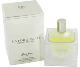 Sean John Unforgivable Multi-Platinum Cologne 2.5 Oz Eau De Toilette Spray image 1
