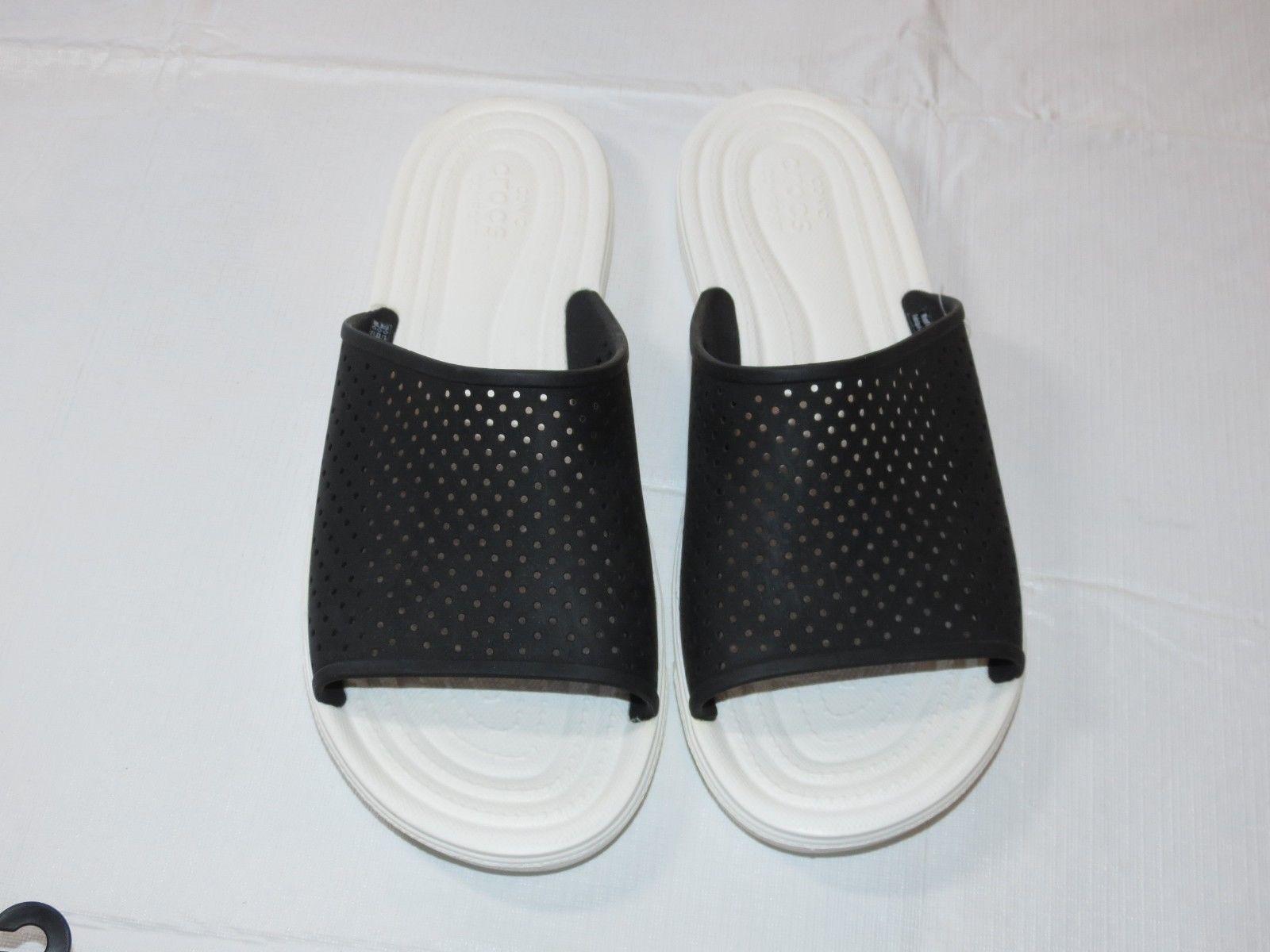 1a3cb34b18 Crocs Citilane Roka Slide M Black White and 38 similar items