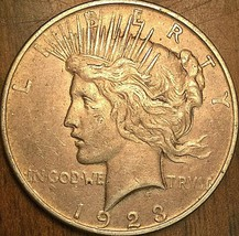 1923 UNITED STATES SILVER PEACE DOLLAR - Excellent example! - $33.96