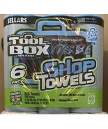 Sellars TOOLBOX Brand Shop Towels, Blue, 6 Rolls, Works Like Cloth, USA ... - $19.79