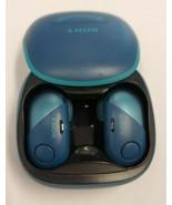 Sony WF-SP700N Wireless In Ear Headphones - Blue - £38.18 GBP
