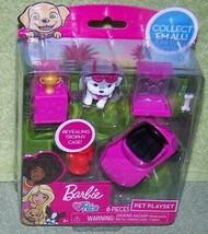 Barbie Pets Mini Playset with Mini Car 6 pcs New - $8.88