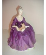 Royal Doulton HN 2421 Charlotte Seated Lady Figurine - $89.99