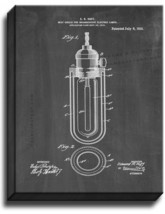 Heat-shield For Incandescent Electric Lamps Patent Print Chalkboard on Canvas - $39.95+