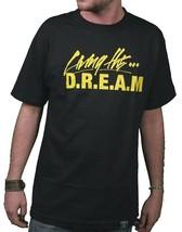 Dissizit! Living The D.R.E.A.M. Dette Lois Everything Argent Noir T-Shirt