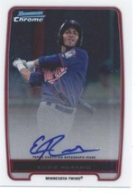 2012 Bowman Chrome Prospect Autographs #BCP9 Eddie Rosario NM-MT - $25.00