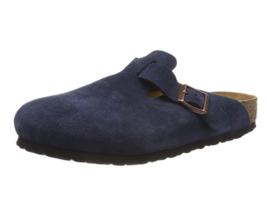 Birkenstock BOSTON Navy BLUE Suede SOFT Footbed 1012370 EU 39 40 41 42 43 - $87.29+