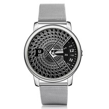 Full Steel Watch Fashion Special Design Luxury Elegant Unisex Quartz Wri... - $11.99