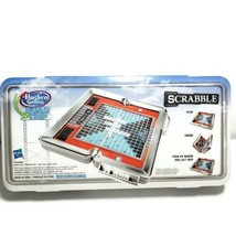 Scrabble Hasbro Gaming Road Trip Portable Case Full Gameplay Crossword G... - $16.82