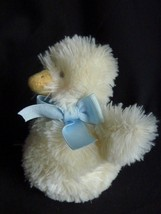 """Bunnies by the Bay plush yellow chick duck rattle 6"""" - $13.18"""