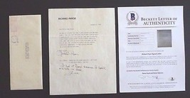 Richard Pryor Signed Autographed 1982 Letter to Willie Nelson BAS Certified - $599.99