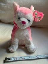 """2006 BONITA the PINK HUSKY - TY PINKYS BEANIE BABY with TAG 6"""" Doll Toy ... - $14.03"""
