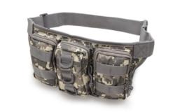 Outdoor Camping Hiking Waist Bag Trekking Waist Pack Camo Pouch - $14.99