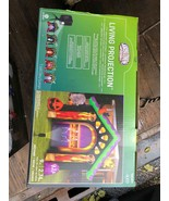 Gemmy Inflatable Halloween Archway Living Projection Projector Haunted H... - $149.99