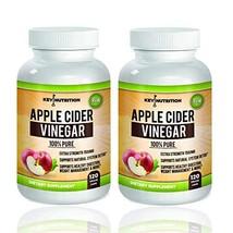 Apple Cider Vinegar 1500mg, 100% Organic, Pure & Raw - Healthy Blood Sug... - $35.68