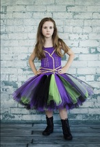 Mal Tutu, Mal Descendants Tutu, Mal Costume, Mal Descendants 2 Outfit, Mal   - $40.00+