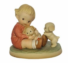 Memories of Yesterday Enesco figurine MY921 Love my Friends puppies puppy dog - $23.71