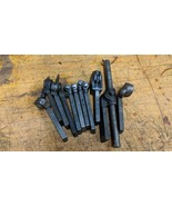 11 ASSORTED METAL LATHE LANTERN TOOL POST BIT HOLDERS ARMSTRONG JH WILLI... - $253.44