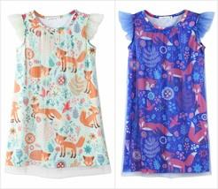 NWT Sunshine Swing Girls Fox Floral Angel-Sleeve Dress - $12.99