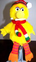 Vintage Sesame Street Christmas big bird Applause - $6.32