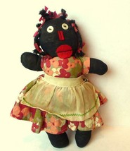 Black Americana Rag Doll Vintage Collectible - $74.25