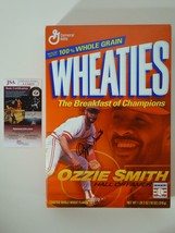 Ozzie Smith St. Louis Cardinals Signed Autographed Wheaties Cereal Box J... - $148.49