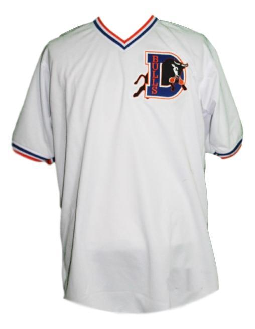 Crash davis bull durham movie baseball jersey white  1