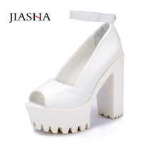 women Sanda head fashion Sandals Women heeled color Fish sexy Solid shoes women xaUSwSv1