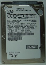 "NEW 250GB Hitachi SATA II 2.5"" 9.5MM hard drive HTS545025B9A300 Free USA Ship"