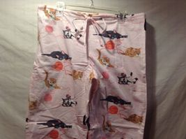 NEW The Cats Pajamas Thick Pant w Long Sleeve Top Cat Themed Set Sz S image 7