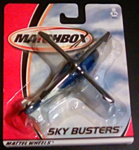 2001 Matchbox Skybusters Rescue Helicopter unopened  - $9.99