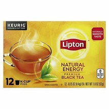 Lipton Natural Energy K-Cup Pods For a (12 Count (Pack of 6)|Natural Energy) - $73.52