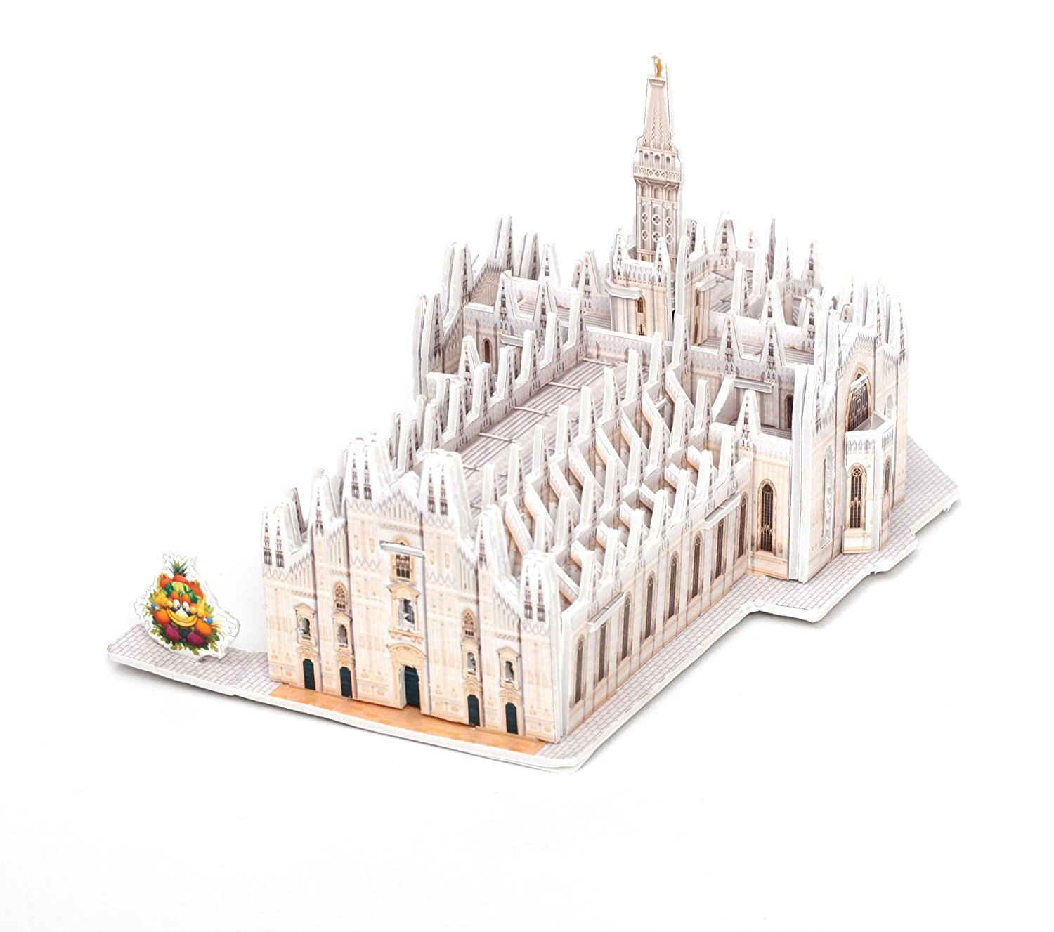 Milan Cathedral 3D Puzzle Model Kit 87 Pieces Expo 2015