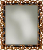 Wall Mirror Alden Parkes Regal Solid Hand-Carved Mahogany - $1,019.00