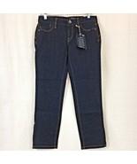 Ann Taylor Loft Womens Jeans Dark Wash Modern Crop Low Rise Size 4 - $22.93