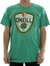 O'Neill Men's Dublin T-Shirt World Famous Lager Beer Green St. Patrick's... - $16.52