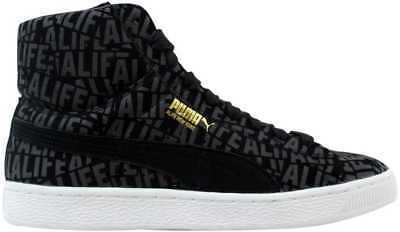 Puma Suede Mid X Stuck Black Alife 358866 01 Men's SZ 9