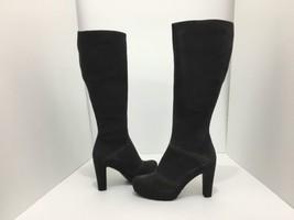 La Canadienne Martine Moka Brown Suede Women's Knee High Heel Platform B... - $106.21