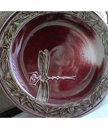 Handmade Red Round Platter - A Collector's Delight - Fantastic Centerpie... - $615.99