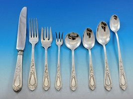 Betsy Patterson Engraved by Stieff Sterling Silver Flatware Set 8 Service 77 pcs - $4,650.00