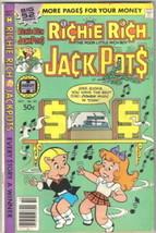 Richie Rich Jackpots Comic Book #43 Harvey Comics 1979 FINE/FINE+ - $4.25