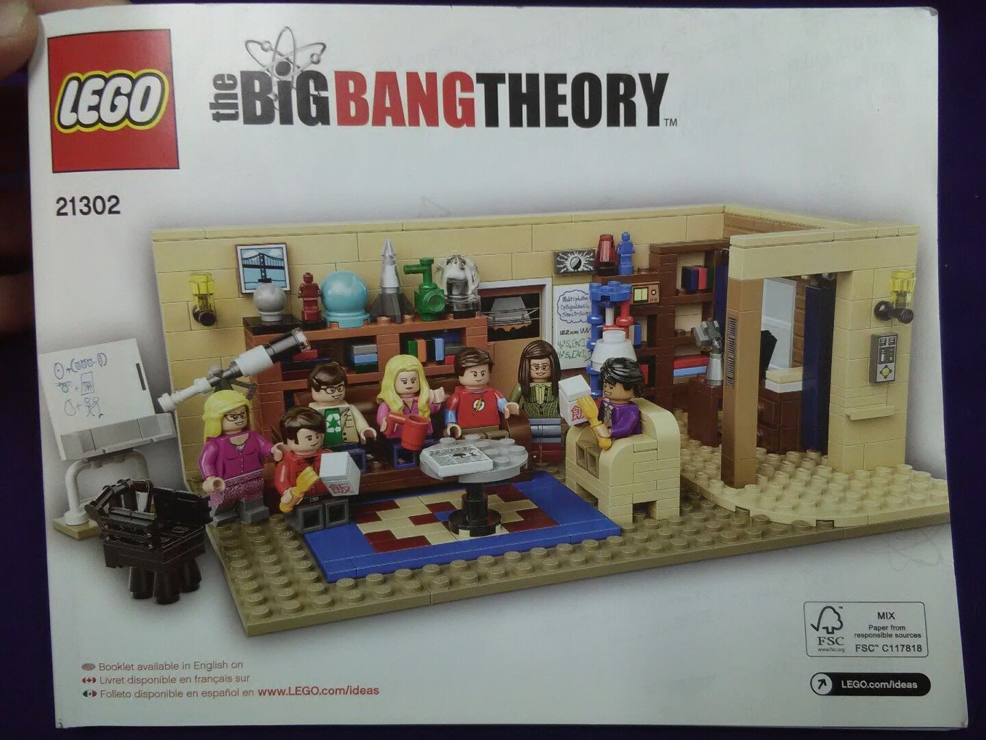 Lego The Big Bang Theory Set 21302 And 50 Similar Items