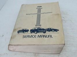 1992 Ford Probe Service Shop Repair Manual, OEM - $14.80