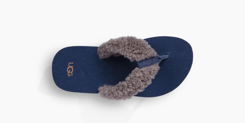 e05adb46dcd Ugg Schutter Flip Flop Shearling Thong Shoes and 50 similar items