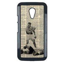 Muhammad Ali Motorola Moto G 2nd case Customized Premium plastic phone case, des - $11.87