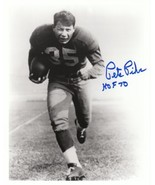 Pete Pihos signed Philadelphia Eagles HOF 8x10 Photo - $15.95